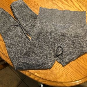 Gray Zella compression leggings